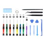 18 delige reparatieset voor iPhone / iPad / iPod / Macbook & meer