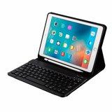 iPad 9.7 (Air / Air 2 / pro 9.7 / iPad 2017 / 2018) toetsenbord hoes - zwart_