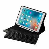 iPad 9.7 (Air / Air 2 / pro 9.7 / iPad 2017 / 2018) toetsenbord hoes - zwart