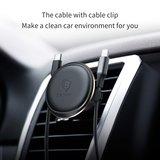 Baseus Luchtrooster / ventilatie autohouder voor iPhone