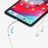 USB-C naar 3.5mm audio met smart DAC aux voor iPad Pro (2018), Huawei, Samsung  Etc