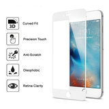 iPhone 7 / 8 plus tempered glass screen protector volledige bescherming - wit