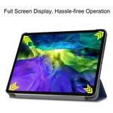 Tri-fold smart case hoes voor iPad Pro 12.9 (2020) -