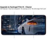 IMAK Soft Clear Hydrogel III 2 stuks screenprotector voor Samsung Galaxy S20 met volledige bescherming