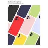 IMAK iPhone 12 & 12 Pro TPU hoesje - paars / lavendelkleurig
