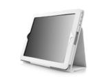 Luxe flip case voor iPad 2, 3 & 4 - wit
