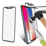 iPhone Xs / X full cover tempered glass screenprotector