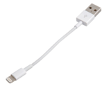Korte Lightning naar USB kabel - Wit