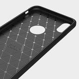 iPhone Xs Max rugged TPU Case - Zwart