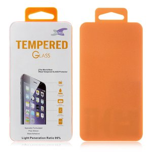 iPhone 11 / iPhone XR tempered glass screen protector transparant