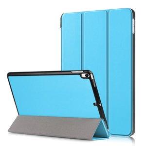Tri-fold smart case hoes voor iPad air 10.5 (2019) / iPad pro 10.5 (2017) - zacht blauw