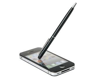 2-in-1 Stylus pen (Zwart)