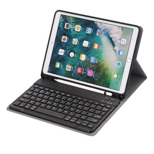 iPad 10.2 (2019) toetsenbord hoes - zwart
