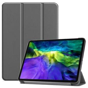 Tri-fold smart case hoes voor iPad Pro 11 (2020) - grijs