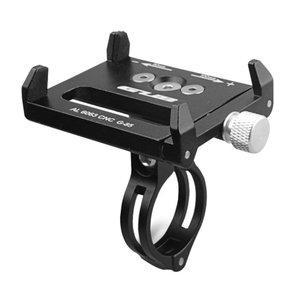 Smartphone houder voor fietsen / fietshouder metaal - zwart