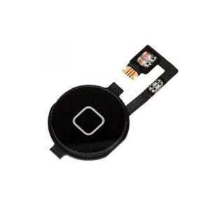 iPhone 4 home button zwart met flex kabel