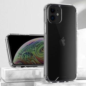 iPhone 12 / 12 Pro bumper case TPU + acryl - transparant