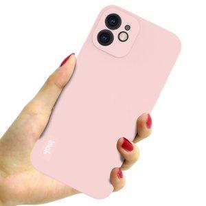 IMAK iPhone 12 & 12 Pro TPU hoesje - roze