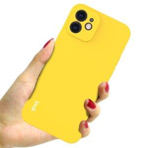 IMAK iPhone 12 & 12 Pro TPU hoesje - geel