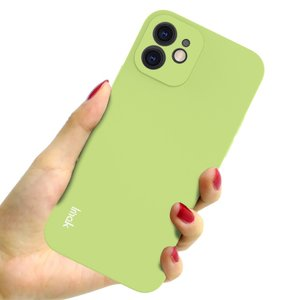 IMAK iPhone 12 & 12 Pro TPU hoesje - groen