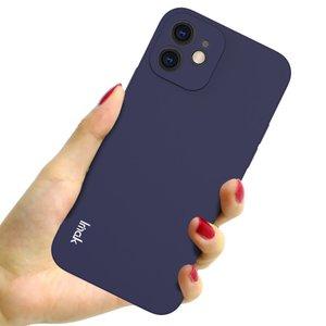 IMAK iPhone 12 & 12 Pro TPU hoesje - blauw