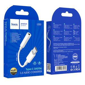 Hoco. LS30 USB-C naar 3.5mm audio adapter