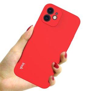 IMAK iPhone 12 & 12 Pro TPU hoesje - rood