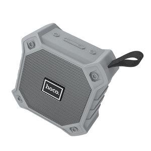 Hoco draadloze bluetooth speaker met FM radio BS34 Grijs
