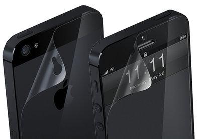 iPhone 5/5s/se Screenprotector voor & achterkant (Transparant)
