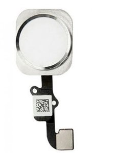 iPhone 6 home button met flex en gasket - wit