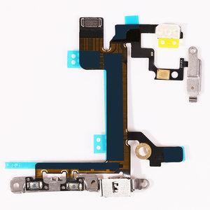 iPhone 5s Power en Volume knop kabel met metalen brackets