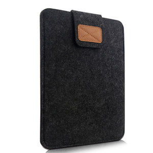 iPad 9.7 sleeve - donker grijs