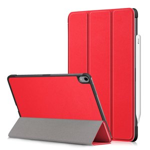 Tri-fold smart case hoes voor iPad pro 11 (2018) - rood