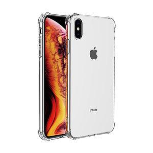 iPhone Xs Max bumper case TPU + acryl - transparant