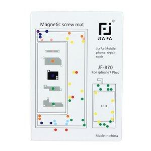 Magnetische schroef mat voor iPhone 7 plus reparaties