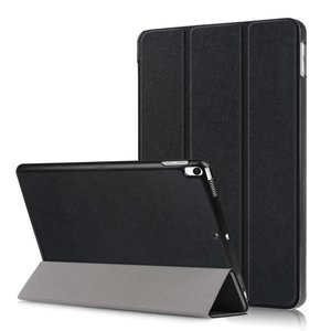 Tri-fold smart case hoes voor iPad air 10.5 (2019) / iPad pro 10.5 (2017) - zwart